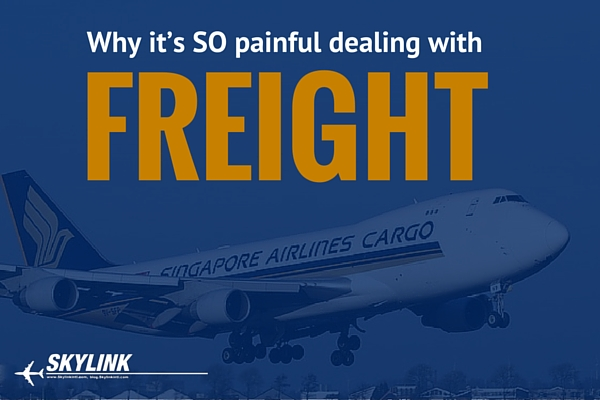 Why aircraft component freight is so painful