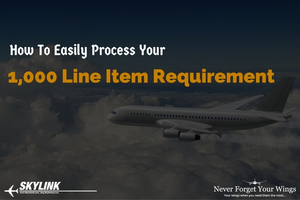 Skylink, Line Item Requirement