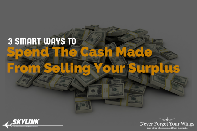 3 Smart Ways To Spend the Cash You Made From Selling Your Surplus