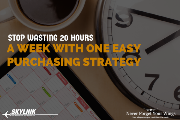 Stop Wasting 20 Hours A Week With One Easy Purchasing Strategy