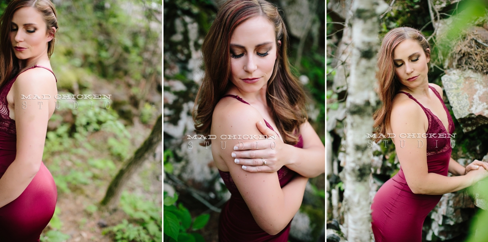 Outdoor boudoir session | Duluth Boudoir Photography | Mad Chicken Studio | Boudoir Photographer Jes Hayes
