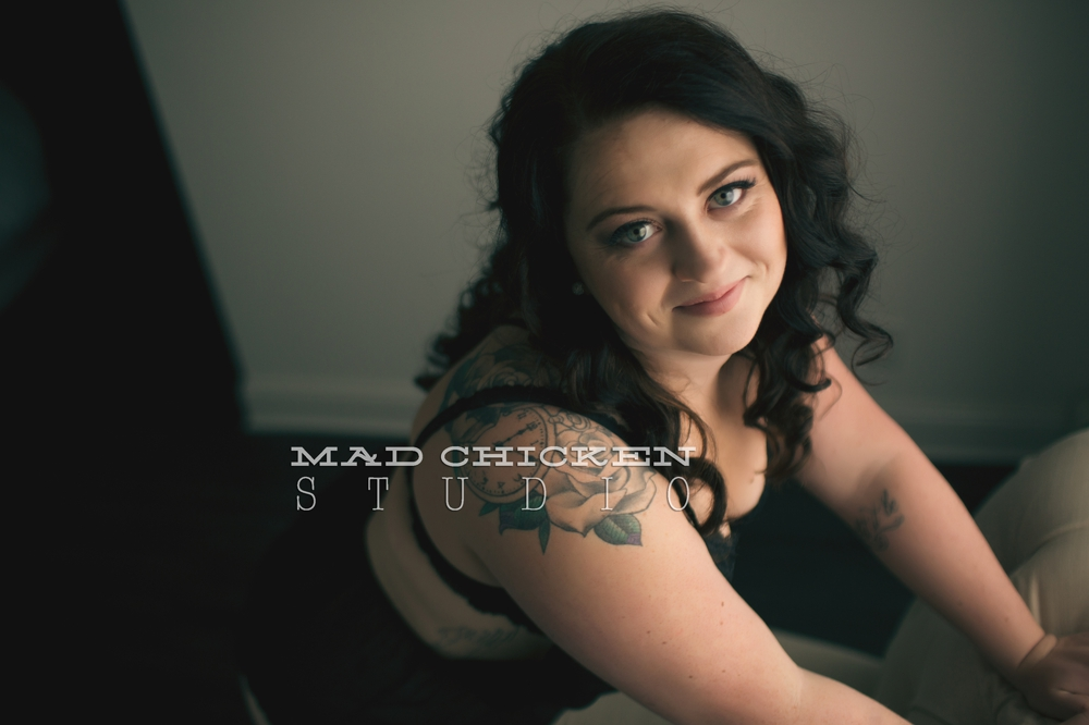 Duluth Boudoir Photography session in woodland | Mad Chicken Studio