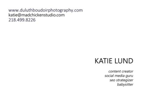 Duluth Boudoir Photography