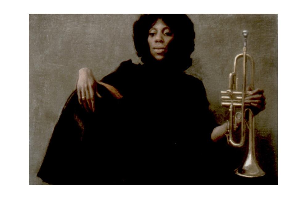 """Trumpet Player"""