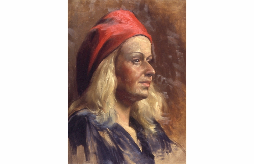 """Woman in a Red Hat"""