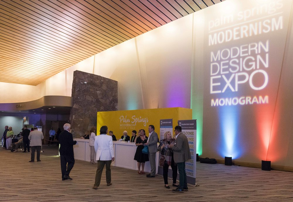 MODERNISM SHOW PREVIEW PARTY  - 1,300 Attendees