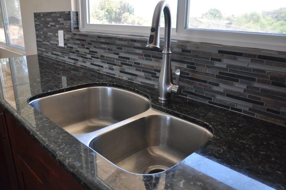 Swanson Kitchen Sink And Backsplash