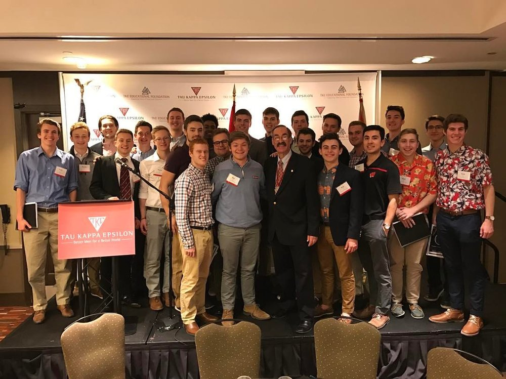 Tekes at the Regional Leadership Conference in Indianapolis, February 2017