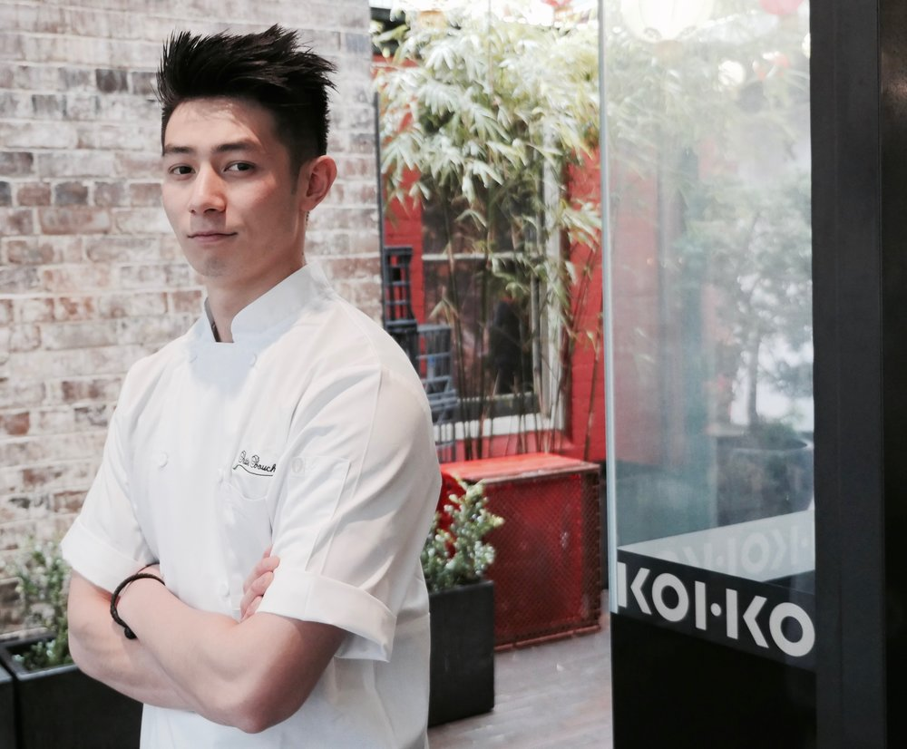 REYNOLD POERNOMO, HEAD CHEF AND OWNER AT KOI DESSERT BAR.