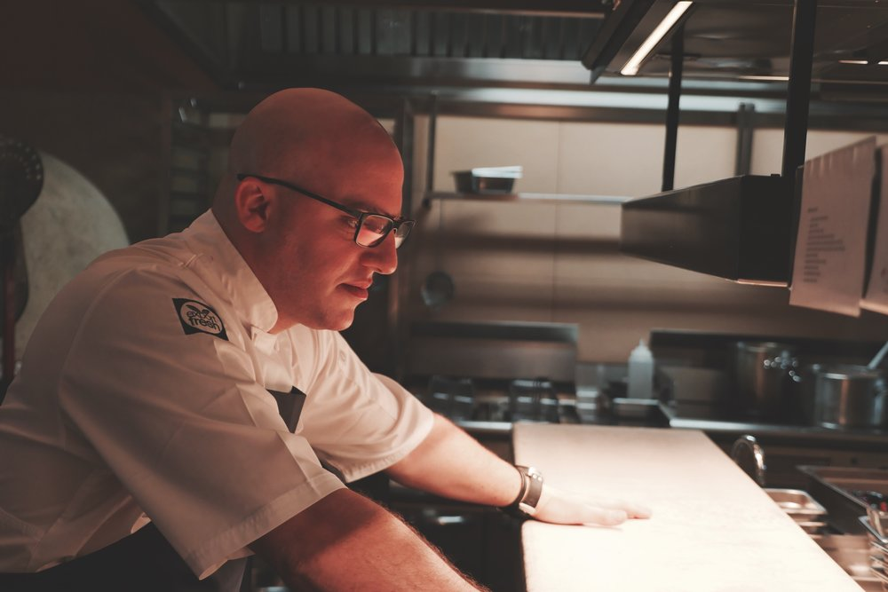 CHEF ROY NER ON THE PASS.