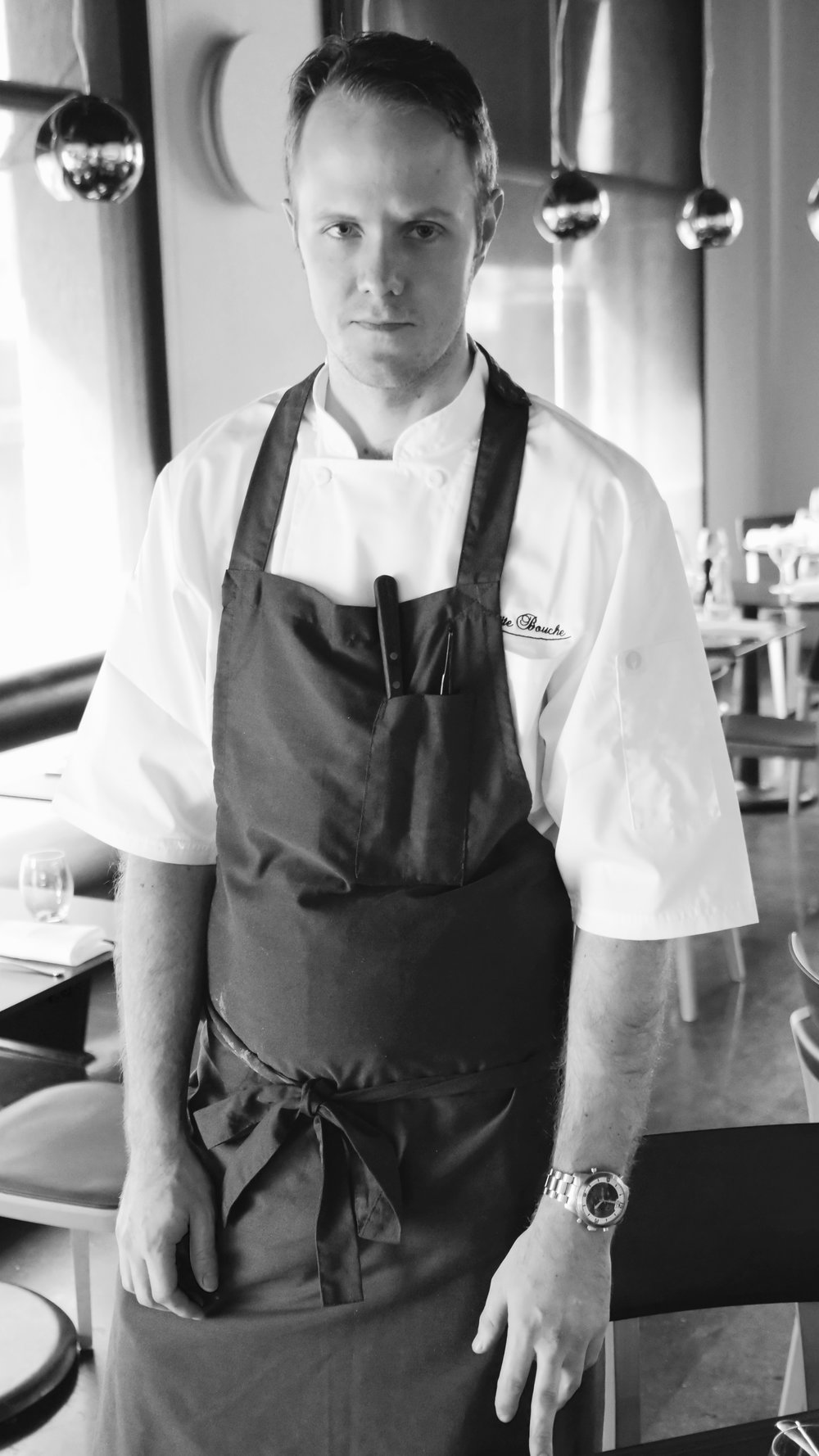 HEAD CHEF SIMON PALMER OF ECCO BISTRO.