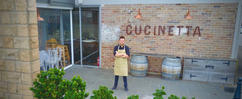 HEAD CHEF AND OWNER VINCENZO.