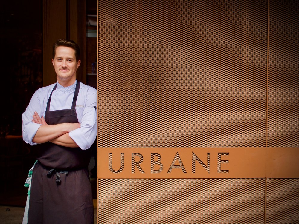 ANDREW GUNN, EXECUTIVE HEAD CHEF OF URBANE AND EURO.