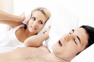 Snoring may bother your partner but can also be a marker of your own ill-health
