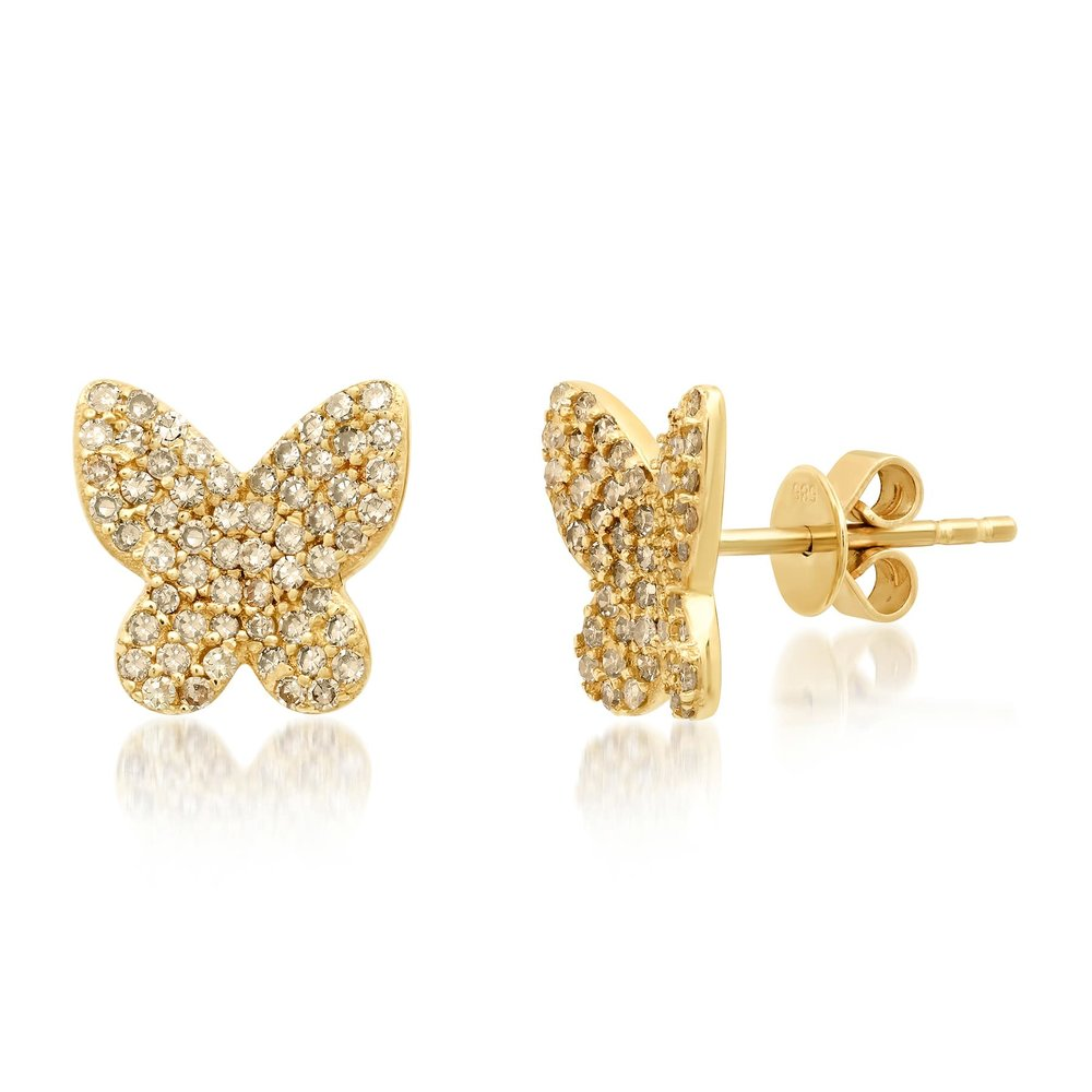 Butterfly Studs, Gold-min.jpg