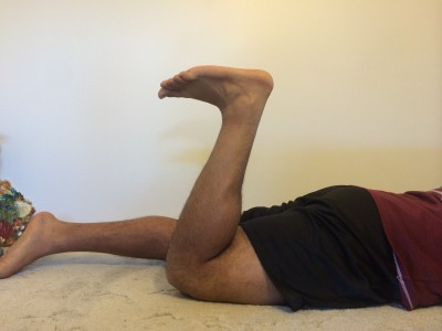 Try pointing your toes for maximum hamstring contraction.