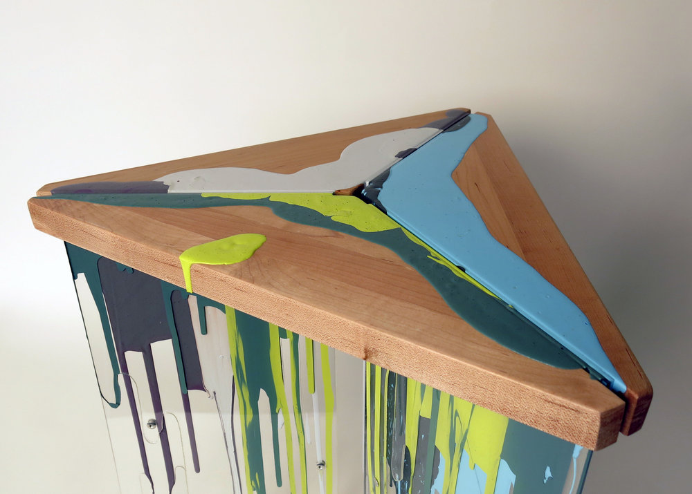 Paint Drop Table