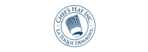 Since 1996 Chef's Hat Inc. has been supplying the world with their signature La Toque Demagny Chef Hats.  In 2000 culinary apparel was added to their offerings.  Designed by a Chef for the chef with emphasis on service, image and value. Chef's Hat Inc.,  here to serve culinary students and professionals everywhere.   www.chefs-hat.com/