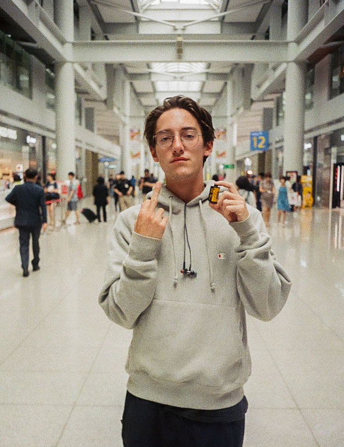 Lost my roll of film that was shot in Korea. This was upon departure. Korea, June 2018