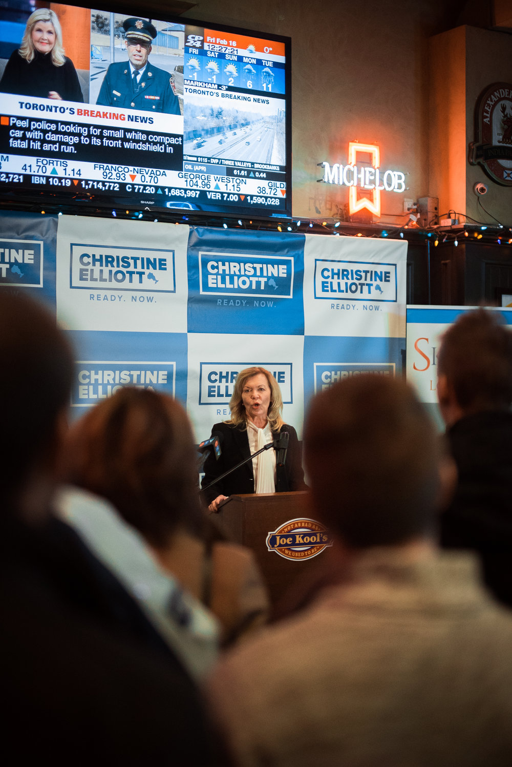 Christine Elliot - politician