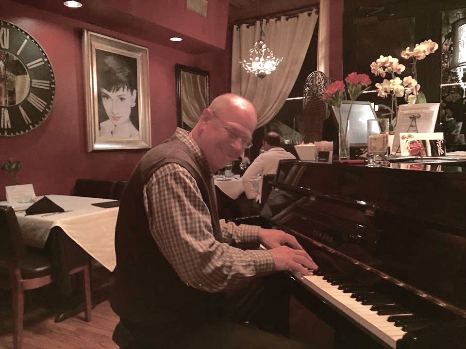Our Feature Pianist, Larry Barker.  Listen to a sample of his music:   https://www.youtube.com/watch?v=IdqE0AE5Suk    https://www.facebook.com/larrybarkerpiano