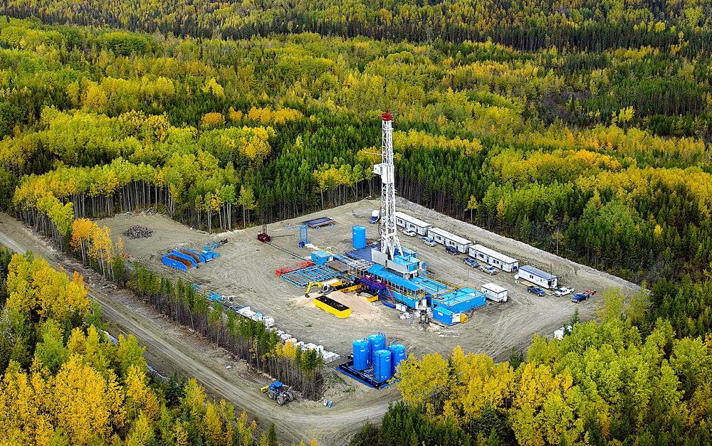 Drilling rig canada