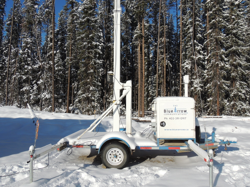 Portable Cell Towers