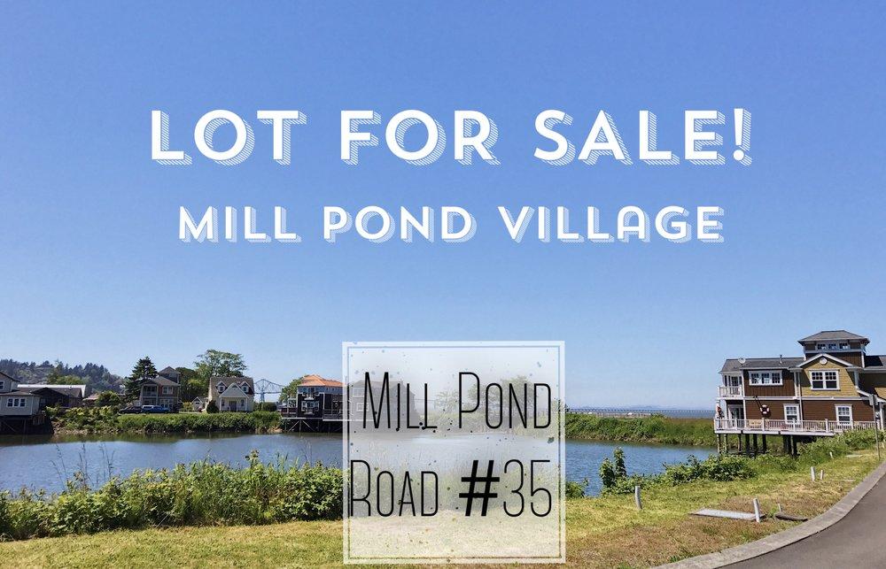 lot for sale mill pond village astoria oregon