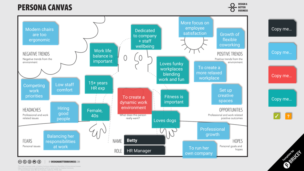 Persona Canvas — Brucey   Marketing Strategy and Inbound Marketing