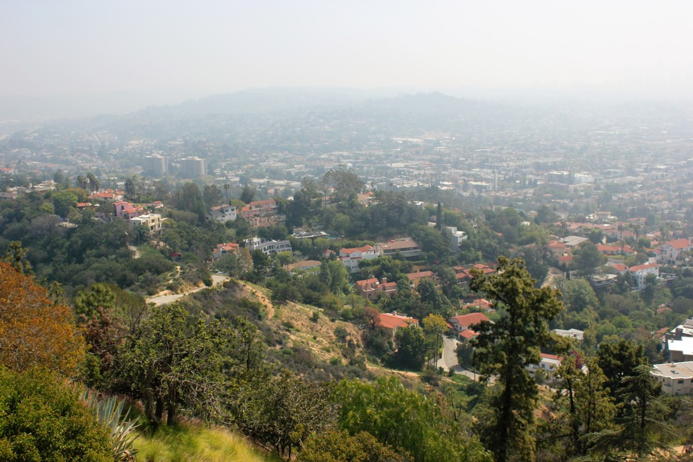 Another gorgeous view of Griffith Park.