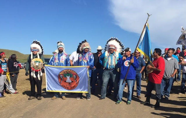 Whats going on in Standing Rock? - The U.S. Army Corps of Engineers (Army Corps) was granted Authorization to the Dakota Access Pipeline to be constructed against the Standing Rock Sioux Tribe's will. That pipeline goes through sacred religious/cultural sites, burial sites, and access to water. We all need water to survive! Native Americans in the U.S. have suffered for over 500 years.