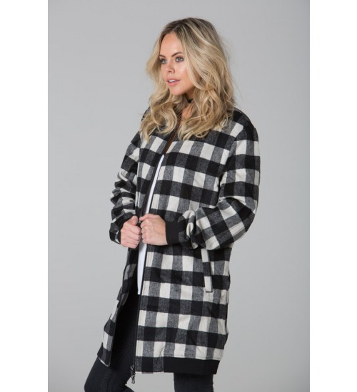 Long Jackets - During the long cold night, a long jacket will offer all the warmth you need. Check out the unique Black & White coat by Polar Whites.