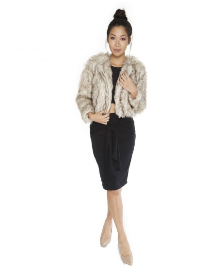 Fur Coats - I recommend going for the Faux fur coats because you wouldn't want to kill any animals, you'll still look fashionable but better. Wearing a fur coat is an effortless way to turn your outfit chic.