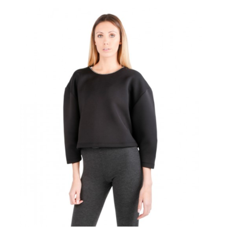 Loose Crop Sweater – Revel Wear - This constructed black crop is an elegant brand of sportswear and street fashion. With a boxy, constructed silhouette, it's comfy, warm, and well fitted. It also gives off some serious Yeezy vibes. Layer it on top of a turtleneck for a new winter look or under your favorite bomber for a classic street vibe.