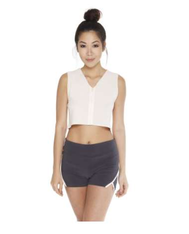 2-Way Crop Top – Revel Wear - This cut out top is Yeezy to a T. Kanye's love of alternative cropping styles andminimalist design is taken to new heights in this piece from Revel Wear. At a greatprice point for students, this piece is the perfect way to rock Yeezy street stylewithout draining your bank account. Paired with the Duster from neon Rose, thiswould make an amazing outfit for any casual occasion.