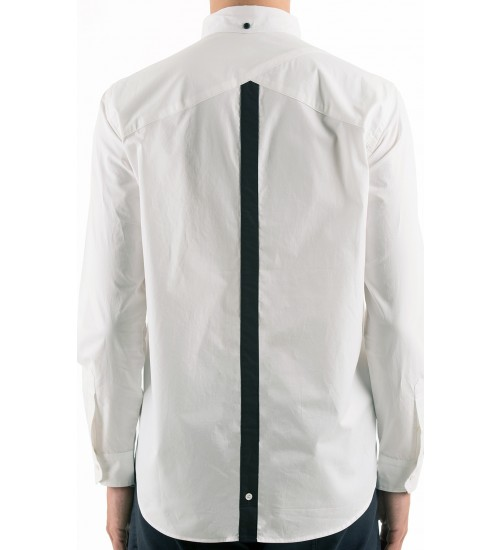 Cosmezin BD Shirt Idle/Ido $110.00 - The ever so classic button up is a staple piece that everyone should have in their closet. If you don't own one yet, you should probably get right on that. You never know when it can come in handy for certain occasions, especially for a job interview. This Cosmizen BD white button up, from Idle/Ido, is a piece of clothing that will be in your closet forever. It's simple, sleek, and you can dress it up however you like.
