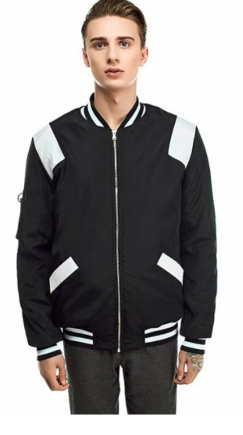 Blaze Warm Men's Bomber – Fusion - This striking, well-constructed bomber jacket is the perfect wardrobe staple for any fashion-forward friend. A black and white color palette complements everything and the perfect fit of this jacket will keep their looks looking tapered and sharp. Despite the high price, no other product can compete with this bomber in terms of quality and durability. It's simply an amazing investment.