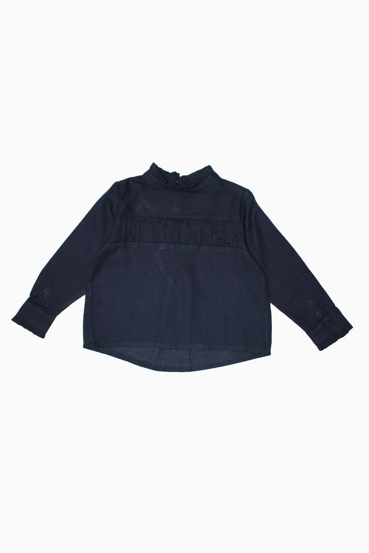 navy blue Lydia blouse