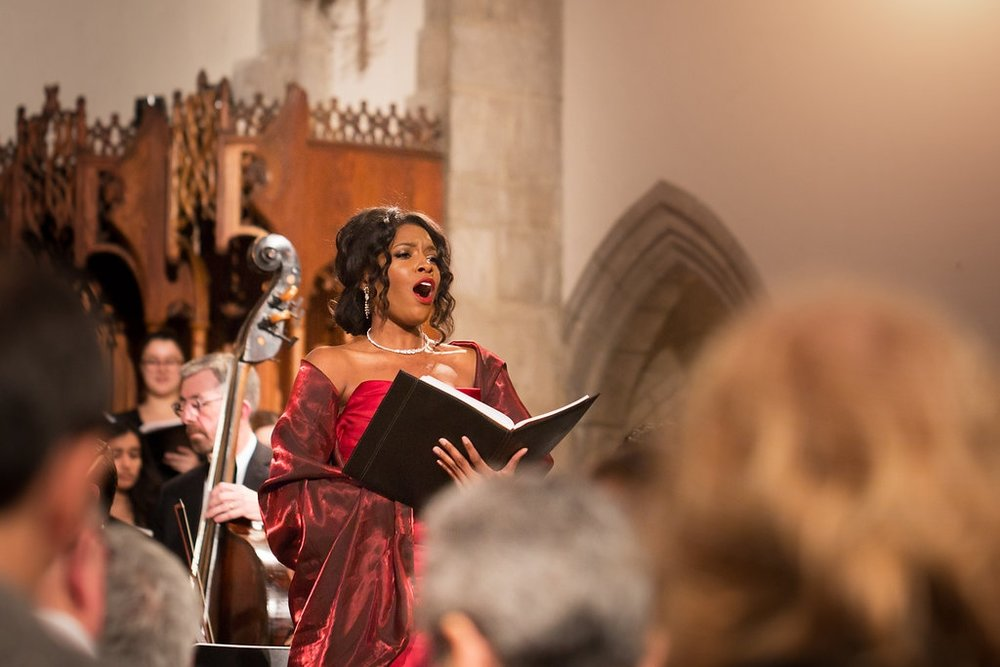 Handel's Messiah at Rockefeller Chapel (click-through to view more)