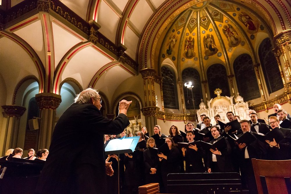 Chicago Chorale Performance at Saint Vincent DePaul in Lincoln Park (click to view more)
