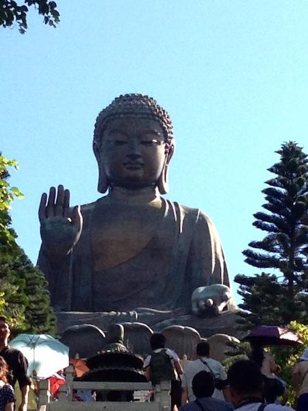 Shakyamuni.Lantau Island,Hong Kong