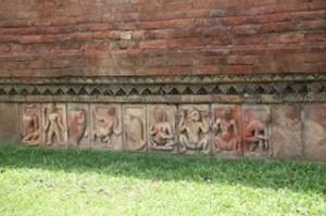 Terra cotta relief