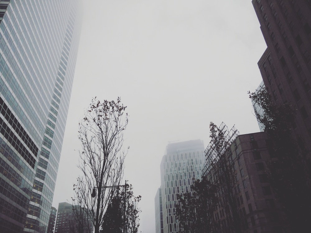 foggy nyc gives me the feels