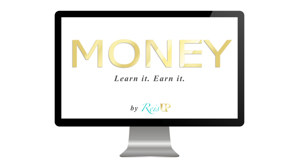 ReisUP MONEY course desktop preview