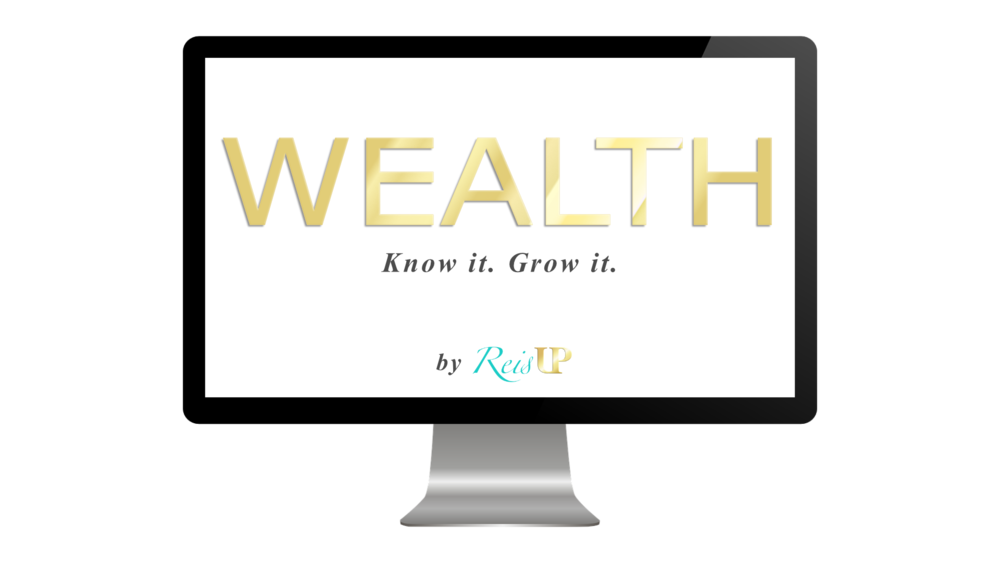 ReisUP WEALTH investing and retirement course desktop view