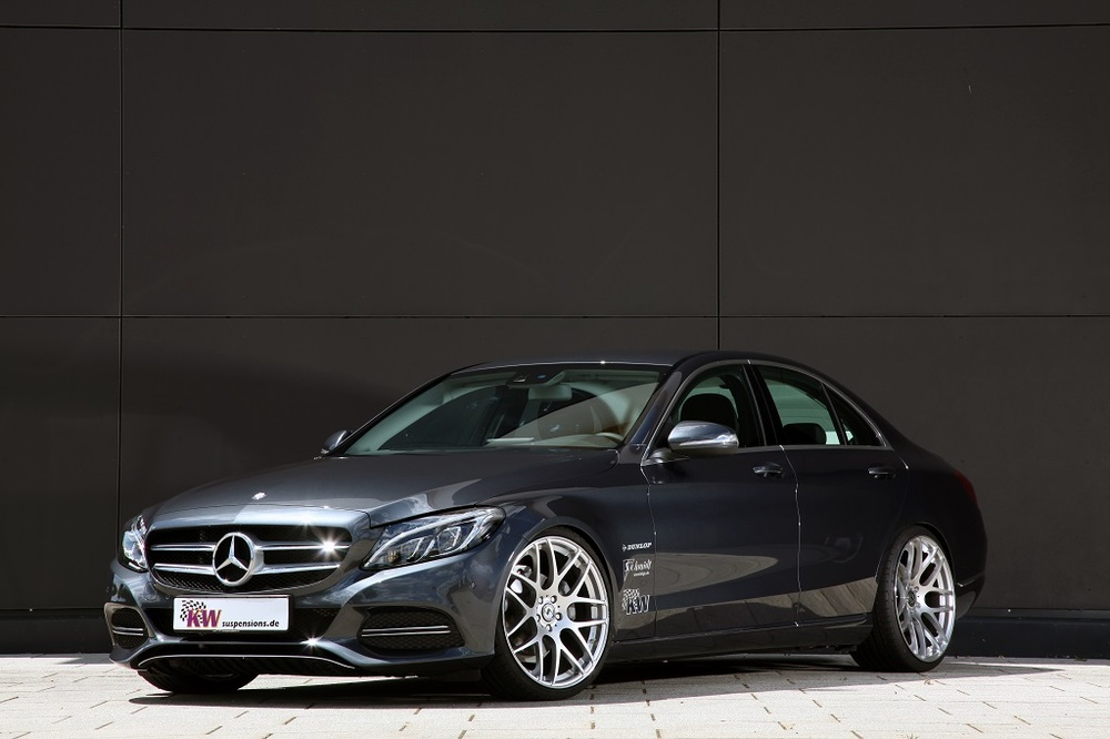 Kw Coilcovers For The Latest Mercedes Benz C Class Vmc Automotive