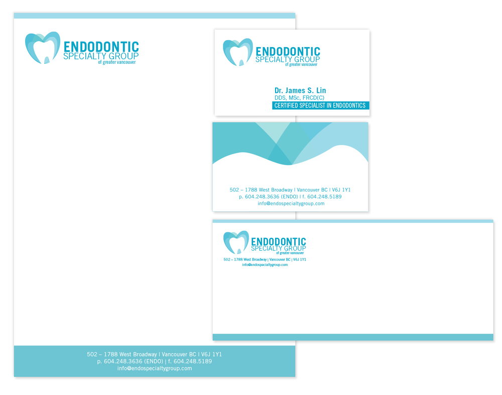 Endodontic Specialty Group Logo & Stationery