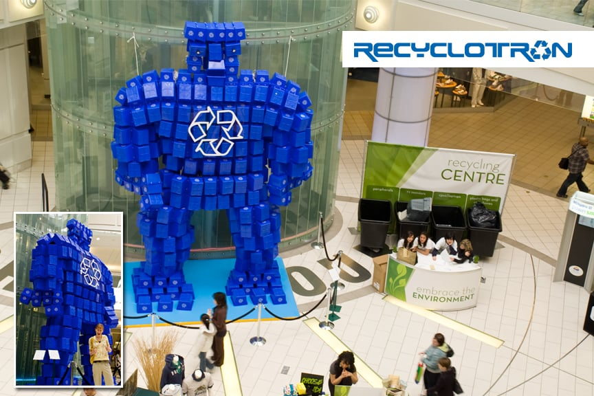 Recyclotron in Metrotown Mall