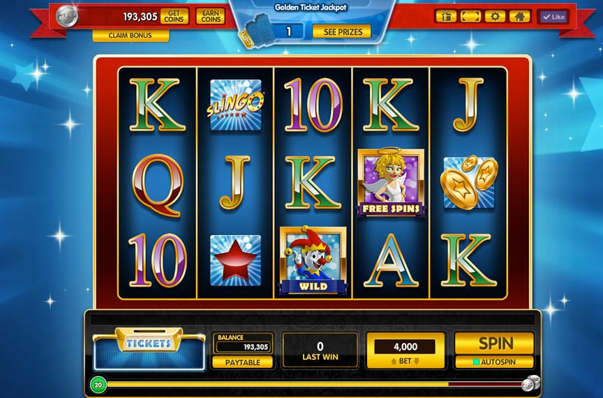 Gamehouse Casino Slots UI