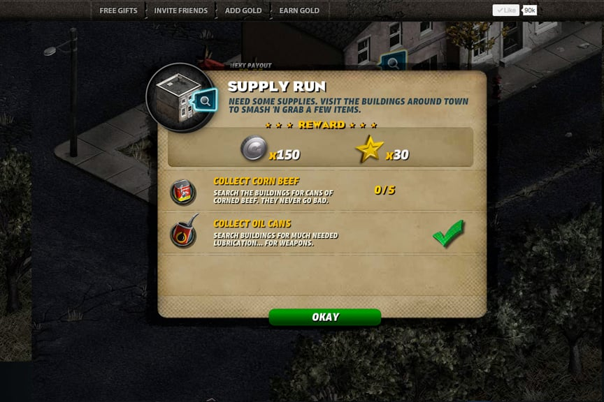 Citizen Grim Mission Screen